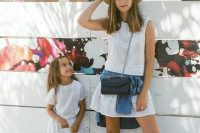12 matching mom and daughter white dresses for summer