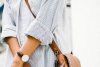 14 brown leather crossbody