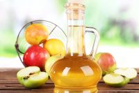 14 rise your hair with apple cider vinegar