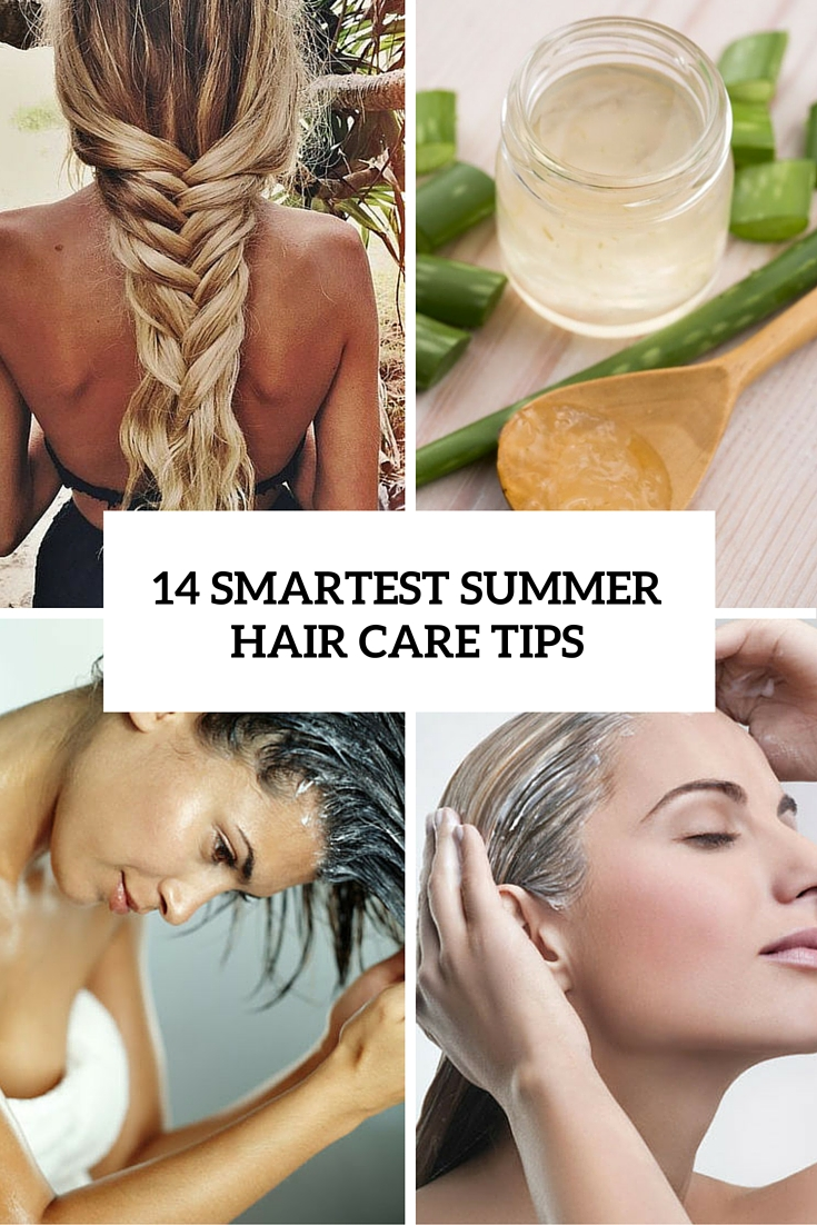 14 smartest summer hair care tips cover