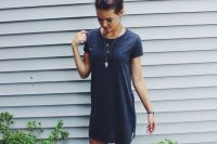 15 sport chic dress with white converse