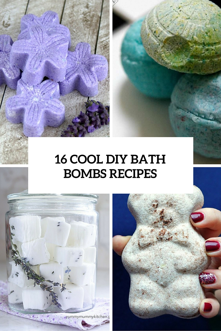16 Cool DIY Bath Bombs Tutorials For Everyone