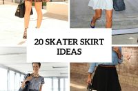 20 Girlish Outfits With Skater Skirts To Repeat