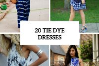 20 Unique Tie Dye Dresses For Summertime