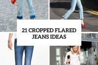21 Cool Cropped Flared Jeans Ideas