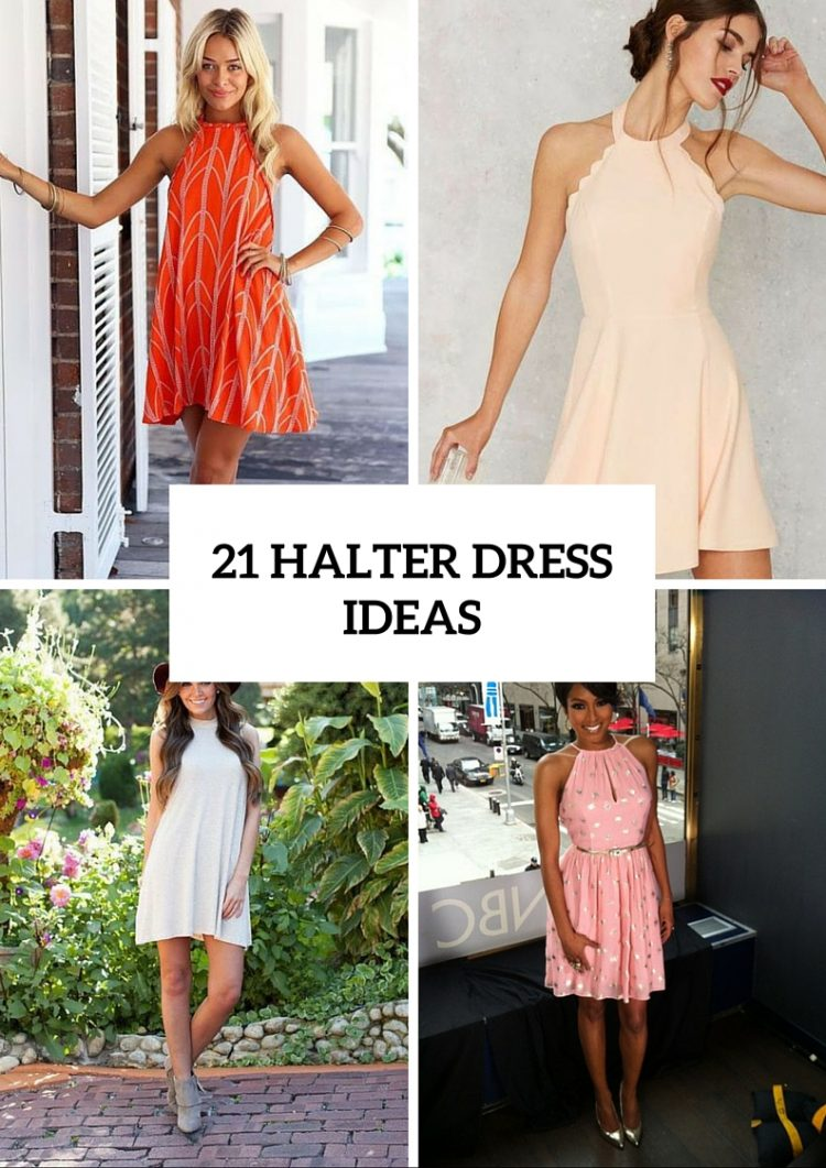 Halter Dress Ideas To Try This Season