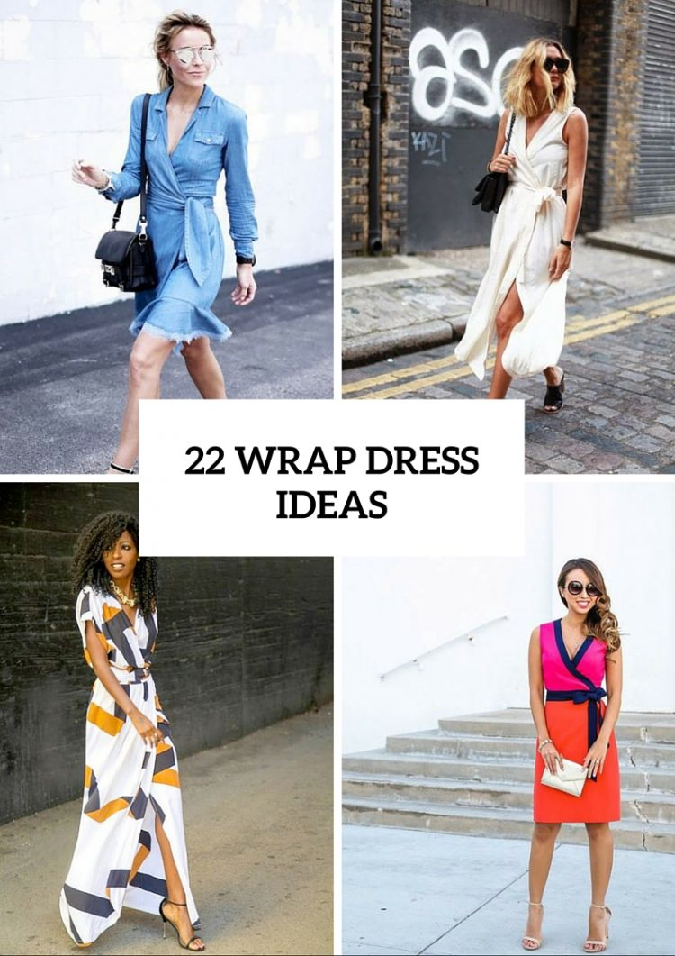 22 Summer Wrap Dress Ideas For Fashionable Girls