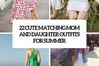 22 matching mom and daughter outfits for summer