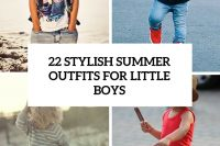 22 stylish summer looks for little boys cover