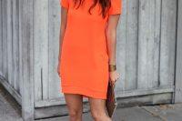 23 orange summer dress