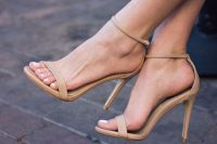 24 nude strappy sandals
