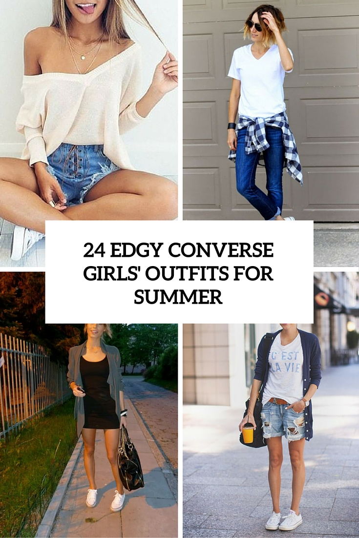 7a7f9a4b4e 25 Edgy Converse Girls  Outfits For Summer - Styleoholic