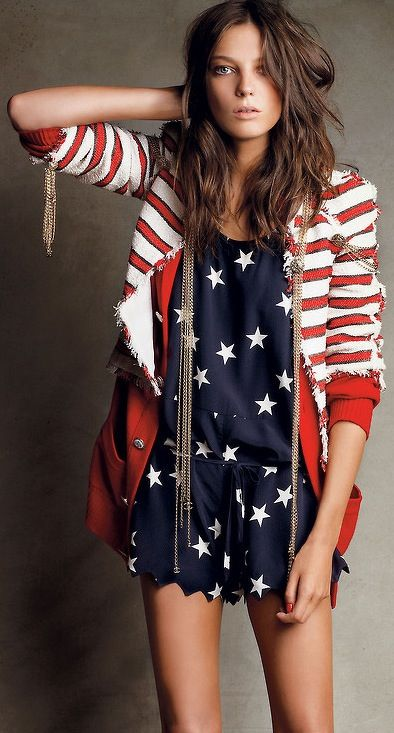 ec3ce02ddbb 26 Stylish And Comfy 4th July Outfits For Girls - Styleoholic