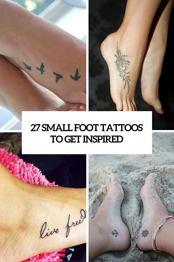 e354ad4ce 27 Small And Cute Foot Tattoo Ideas For Women - Styleoholic