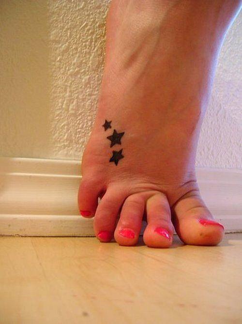three-star tattoo