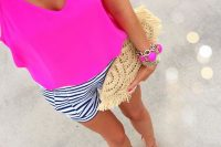 30 bold fuchsia top for summer
