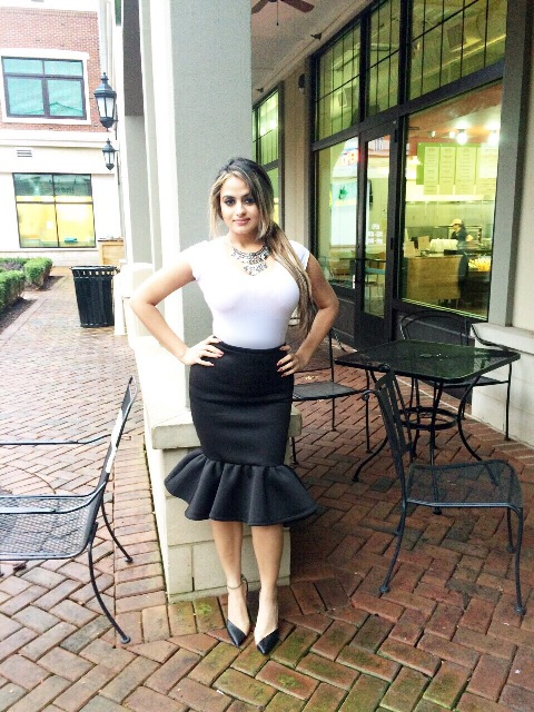 23 Awesome Trumpet Skirt Outfits For Summer forecasting