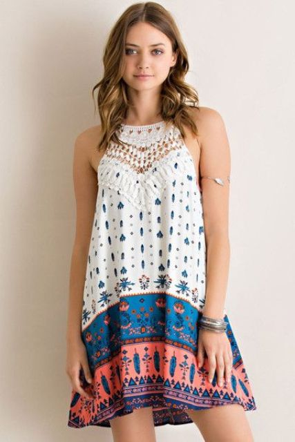 Boho chic looks are so cool for summer