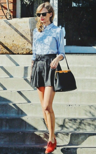 20 girlish with skater skirts to repeat styleoholic