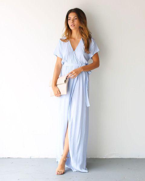 Wrap Dress Maxi Photo Album - Reikian