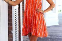 Eye-catching halter dress
