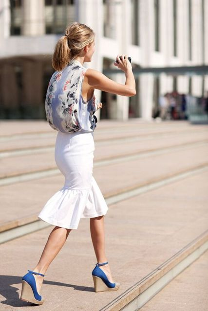 Watch 23 Awesome Trumpet Skirt Outfits For Summer video