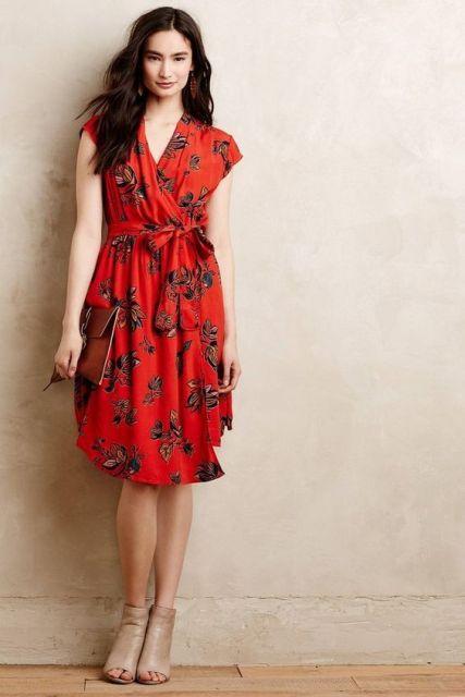 22 Summer Wrap Dress Ideas For Fashionable Girls |