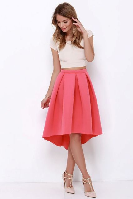 21 excellent with high low skirts styleoholic