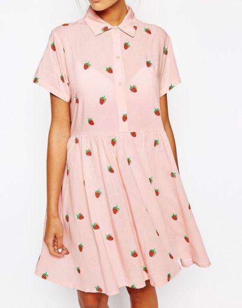 Strawberry dress idea