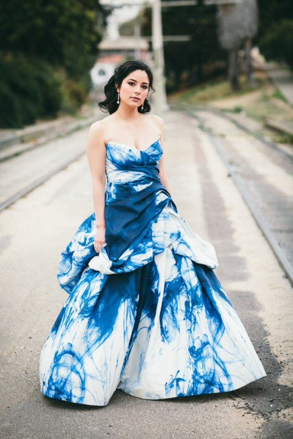 22 unique tie dye dresses for summertime styleoholic for Dyeing a wedding dress professionally