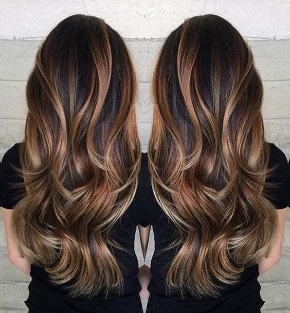 6 tips to ombre your hair and 29 examples styleoholic brown hair with caramel and blond highlights pmusecretfo Images
