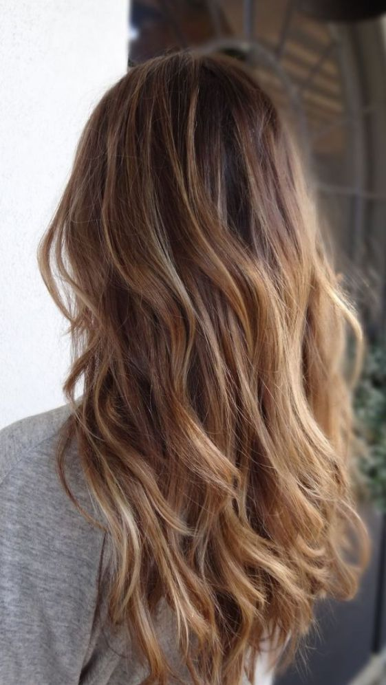 Picture of brown to caramel and blond ombre hair brown to caramel and blond ombre hair urmus Images