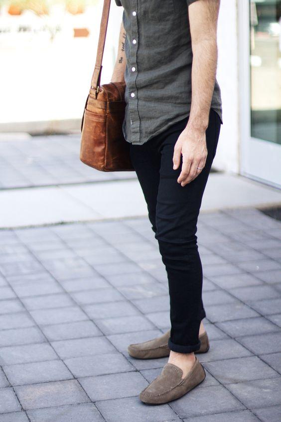 Blue Suede Shoes Black Pants