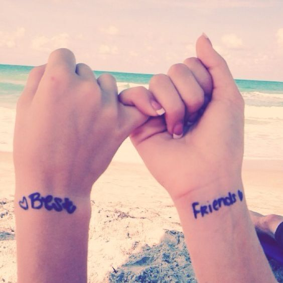 03 best friends wrist tattoos