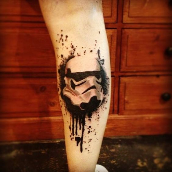 32 star wars tattoos for real fans and geeks styleoholic. Black Bedroom Furniture Sets. Home Design Ideas