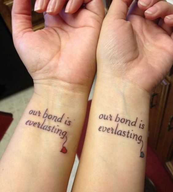 05 bff phrase on wrist (our bond is everlasting)