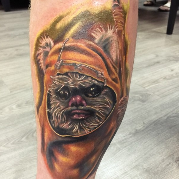 colorful Ewok design
