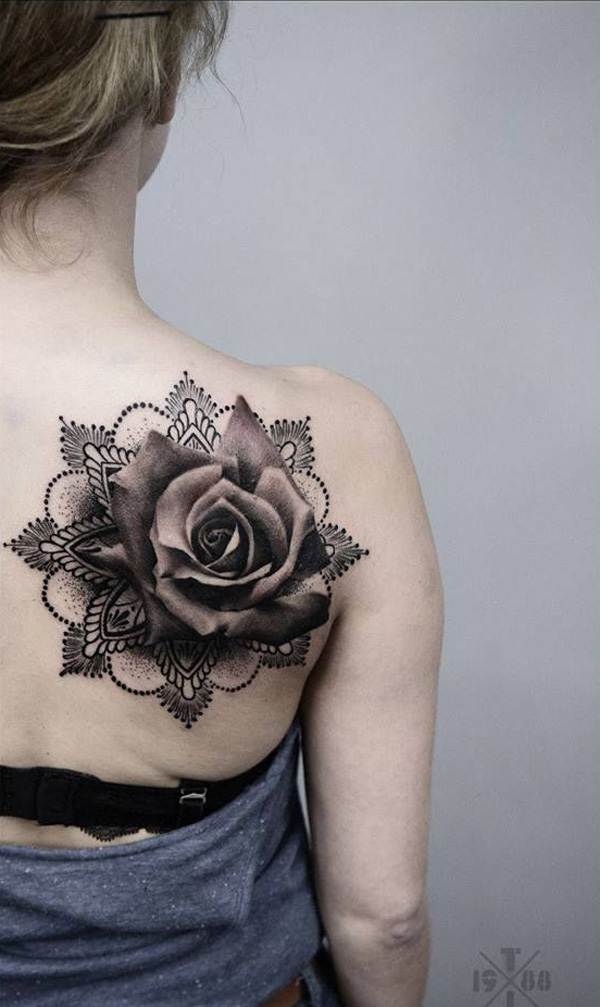 Rose Tattoos Flower: 36 Beautiful Rose Tattoo Ideas For Everyone