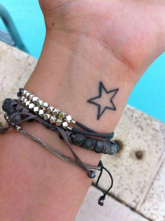 23 hottest star tattoo designs you ll love styleoholic. Black Bedroom Furniture Sets. Home Design Ideas