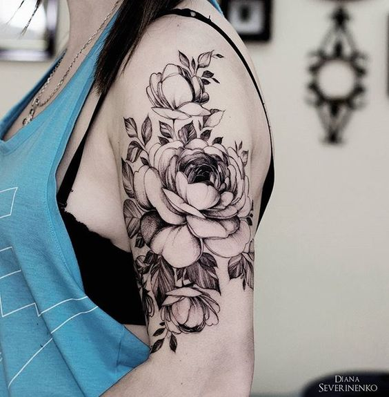 32 Cutest Flower Tattoo Designs For Girls That Inspire Styleoholic