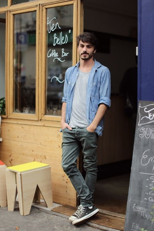 24 Stylish Men Summer Outifts With Converse Sneakers - Styleoholic