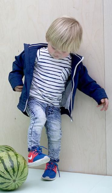 23 Stylish Little Boy Sneakers Outfits For This Summer