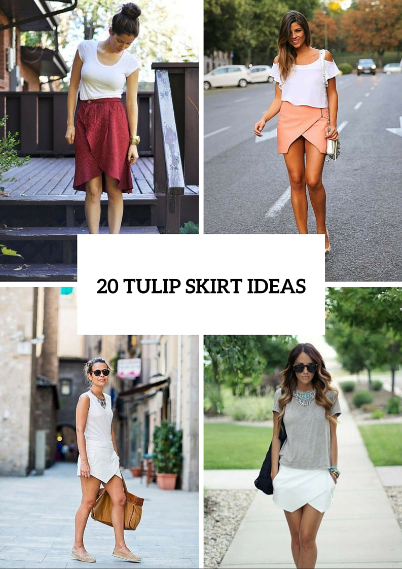 20 Stunning Tulip Skirt Ideas For This Season
