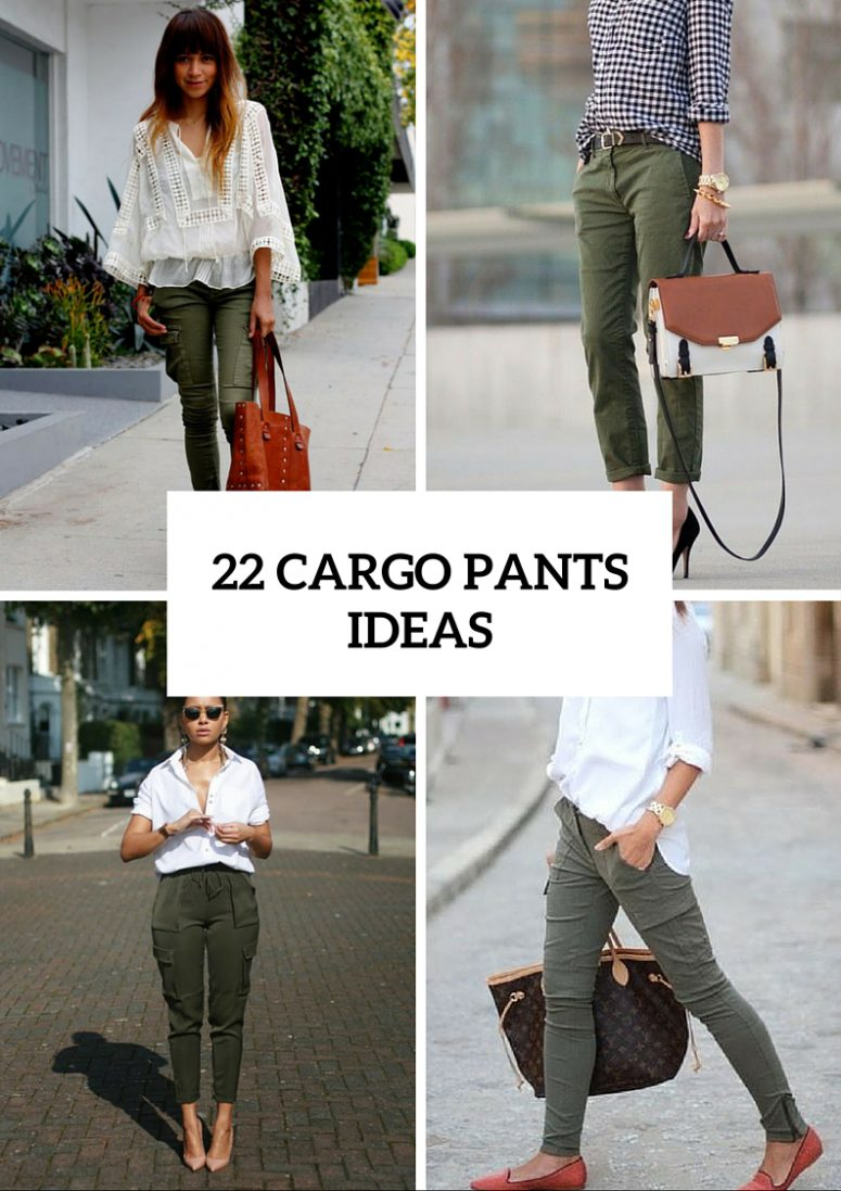 22 Stylish Outfits With Cargo Pants