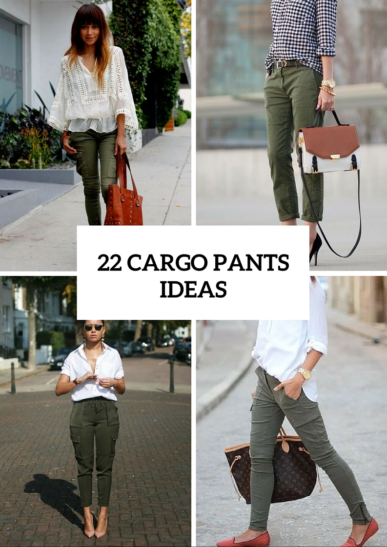Stylish Looks With Cargo Pants
