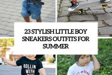 23 little boy sneakers outfits for summer cover