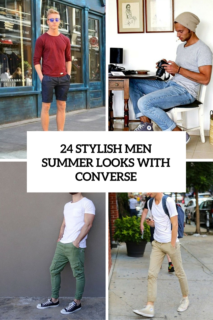 4a6c5aa1f2b 24 Stylish Men Summer Outifts With Converse Sneakers - Styleoholic