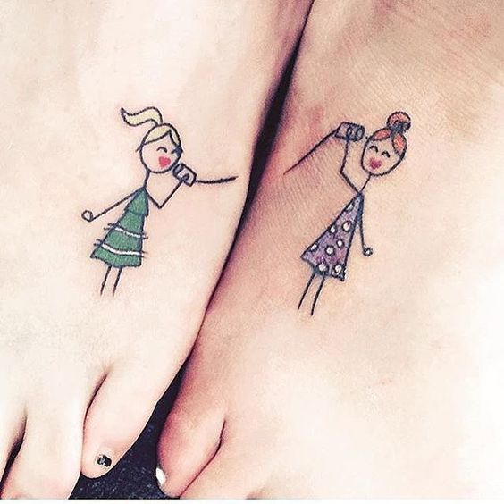 fun tattoos of little girls
