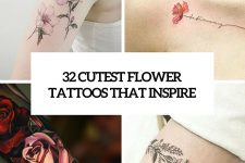 32 cutest flower tattoos that inspire cover