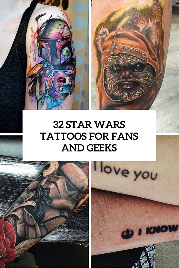 32 Star Wars Tattoos For Real Fans And Geeks